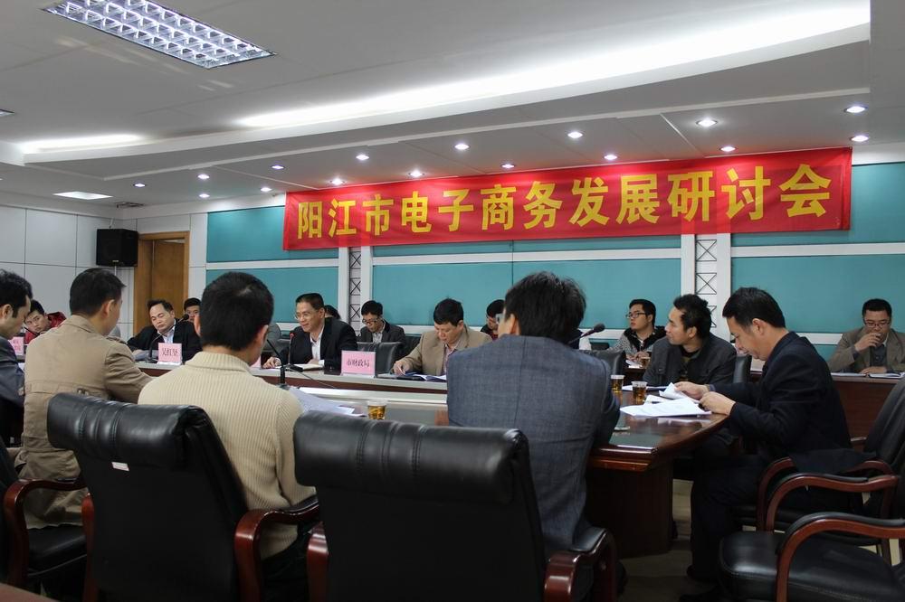 阳江企业家研讨电子商务发展